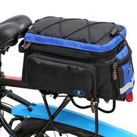 Hot sale Black Cycling bicycle saddle Bag Waterproof Bag Bike Accessories rain cover bag Volume 10-25L JM011