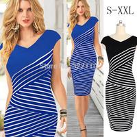 Diagonal Stripe Women dress Sheath Sexy Ladies Dresses Casual Bodycorn dresses Sleeveless Vestidos V neck dress