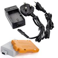 1 pcs LP-E5 LPE5 LP E5 LI-ION Camera Battery For Canon 450D 500D 1000D Free Shipping+ Charger