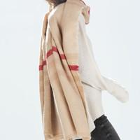 Brand Scarf Fashion Women 2014 Winter Wool Blend Thicken Warmth Soft Scarf Big Shawls