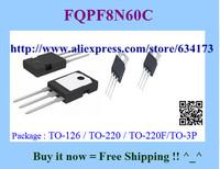 Free Shipping FQPF8N60C TO-220  10pcs/lot