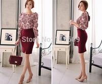 Womens Woolen Skirts 6XL Plus Size Womes Skirts Winter 2014 Causal Suit Work Pencil Skirts Classic Black Formal Skirts XXS-6XL