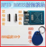 Free Shipping 2PCS/LOT RFID module RC522 Kits S50 13.56 Mhz 6cm With Tags SPI Write & Read for  uno 2560