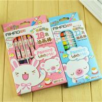 12 /18 colors crayon,Draw tools,Crayon pen,Wax crayon . Creative stationery,7.3*1cm. Wholesale .Free shipping