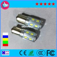 2X 1156 BA15S P21W S25 Cree Lens Samsung 5730 12SMD LED Turn Signal Bulb Tail Lights Retail Reverse Light Lamp led backup light