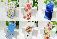 wholesale Freeshipping New Stylish Grip TPU Flower  Butterfly Gel Soft Back Cover Case  For  i6 or i6plus Case Slim Shell