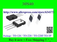 Free Shipping FQPF30N40 30N40 TO-220F 10pcs/lot