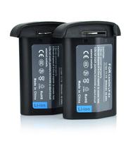 Brand New 2(Pcs) LP-E4 Batteries LP E4 LPE4 Camera Battery For Canon EOS 1D 1Ds Mark III IV 1DX 1Ds3 1D3 1D4