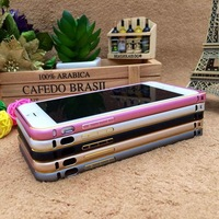 Free shipping high quality 4.7inch case frame for Iphone 6 Slim Aluminium Metal Bumper Frame Case Drop shipping