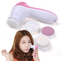 HOT New Design Fashion in 1 Face Cleanser Cuticle remover Face Massager Brush Dead Skin Remover Beauty Care detox foot tool