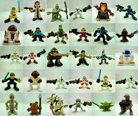 15pcs/set Star Wars 4-7.5CM Anime Figures Classic Toys