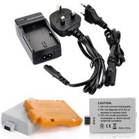 1200mAh High Wholesale 2pcs/set LP-E5 LP E5 Replacement Digital Battery for Canon camera+ Charger