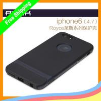 For iPhone 6 6G 4.7 inch Original Rock Royce Series PC +TPU Ultra Thin Anti-Knock shockproof Case +retail+ freeship