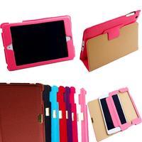 Free shipping with Tracking by HK/SG post JX Ultra Slim Leather Smart Hard Back Case Sleep/Wake For ipad mini /ipad mini2