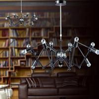 12 Lights spider light Vintage Retro Adjusted DIY Ceiling Lamp chandelier Pendant Lighting Suspension Light Spider Pendant Lamp