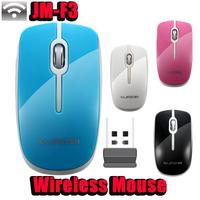 JM-F3 Original Brand Fashion Office Mice Wireless Optical 1200 DPI Girl/ Lady Mouse Notebook PC Computer Peripherals
