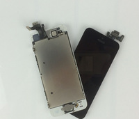 Free shipping DHL 10pcs AAA+ For Iphone 5 LCD Display Touch Screen Digitizer Assembly replacement +Home Button+Front Camera