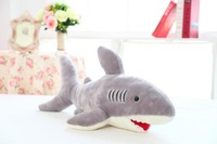 Free shipping 70cm shark plush toy The simulation plush toy  of shark soft suffed toy factory supply Christmas gift