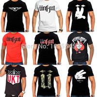 Free Shipping Hot Sale Brand Unkut T Shirt Men Hip Hop Shirts For Men Camisa Masculina T-Shirt With Short Sleeve