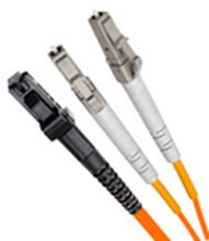 LC-MTRJ MTRJ-LC multimode duplex fiber jumper telecommunication grade optical fiber cable 3 m