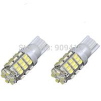 FreeShipping 100pcs/lot T10 42 SMD 1206 Car Vehicle Wedge Light Bulb wholesale W5W White car led light