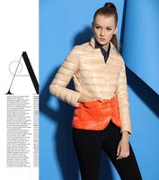 new 2014 Winter fashion popular Designers Warm lady Down coat women Down jacket Cotton-padded Jacket girl Outerwear Down Parkas