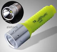 2000 Lumen Diving Flashlight CREE XM-L T6 LED 18650 Waterproof Torch Lamp Light