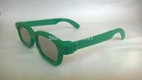 Wholesale 100pcs/lot Glasses for Children 3D Polarized Plastic Frame 3D Glasses Child