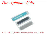 100pcs/lot Three-piece handset network for iphone 4 4s free shipping