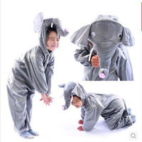 Free Shipping Children Elephant Performance  Costume Christmas Gift Show Sets Party Suits Birthday Gift EY001