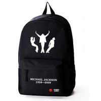 Free shipping Star models shoulder bag Michael Jackson dance space backpack sports bag backpack bag men and women DIY made