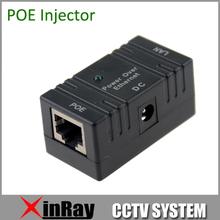 5 pz/lotto connettore rj45 12 v 1a poe injector power over ethernet switch adattatore POE001 per poe della macchina fotografica hikvision ip adattatore fotocamera(China (Mainland))
