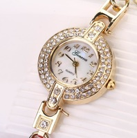 50pcs/lot fashion leather women watches,new design with diamond bracelet watches for ladies free shipping dhl XR463