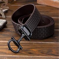 Free shipping Black alloy letters buckle High-end jeans belt Men/Women's Genuine leather Belts For Multicolor chose  2014 Design