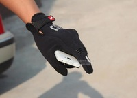 2014 Motorcycle Racing Accessories & Bike Bicycle Warm Touch Screen Men Fashion Sports Full Finger Gloves