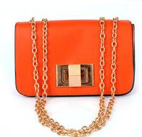 Wholesale 2014 spring new Korean chain handbag shoulder bag Messenger packet a generation of fat tide