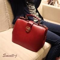 Freeshipping 3 Colors Fashion Doctor Bags Fashion red vintage bag ELEGANT WOMEN handbag shoulder bag female bags