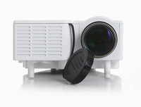 Free shipping ACTO portable mini video led full hd HDMI home Theater led projector lamp support 1080p 3D UC28+ White Cheap!