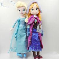 2014  hot Princesses Elsa Anna Olaf Snowman Set Playset   dolls