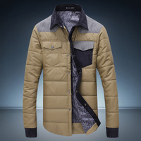 2014 new arrival mens winter jackets men's coat cotton-padded clothes factory wholesale N-5
