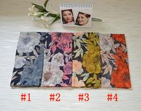 Women winter scarfs 2014,shawls and scarves,scarf women,Flower print,Floral hijab,rayon shawl,bandana,muslim hijab,poncho wrap