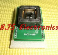 Explosion bounce PLCC44 TO DIP40 Programmer Socket / MCU brush holder PLCC44 turn DIP40 write