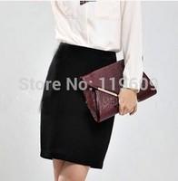 Autumn OL Skirts Womens Skirts Plus Size Western Suit Skirts Classic Black Causal Work Skirts XXS-7XL