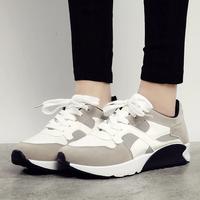 2014 Wedges Women Leopard Sneakers Casual Ladies Shoes High Heel Shoes 520