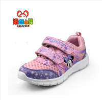 Spring cartoon shoes 2014 new flower girl's minnie mouse sneakers children's running shoes kids sports shoes pink hot sale