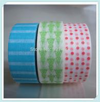 1.5cm*10m 800 patterns Japanese DECORATION printed  washi tape wholesale
