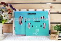 20 Pcs Wholesale A4 Cartoon Animal Duck Elephant Rabbit PVC File Document Mesh Bag Pouch Holder