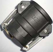 PP Camlock coupling fittings Type D