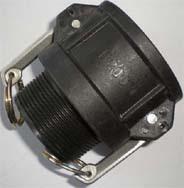 PP Camlock coupling fittings Type B