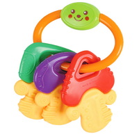 Free shipping Baylor educational toys for baby green eco-friendly teethers 0-1 year old key ms0010